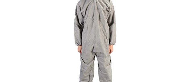 Grey SMS Coverall - 7318