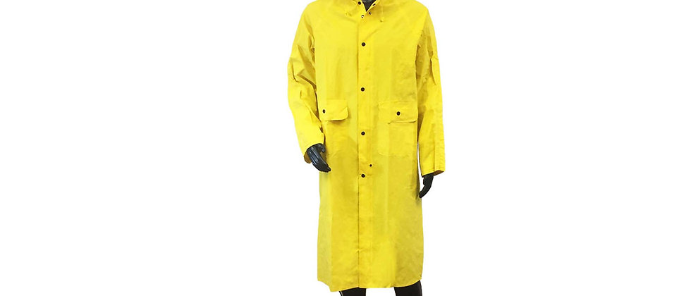 PVC on Polyester Rain Coat - C89