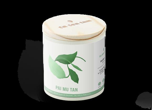 PAI MU TAN - «La pivoine blanche», thé blanc grand cru!