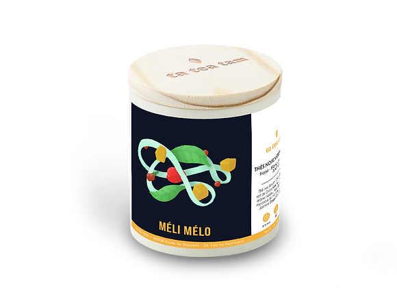 MELI MELO - Thé noir Fraise - Mangue - Griotte - Ananas