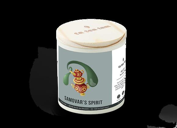 SAMOVAR'S SPIRIT - Pu Erh - Recette Chaï
