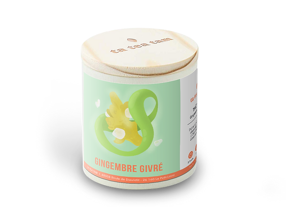 GINGEMBRE GIVRÉ - Thé vert Gingembre - Citron