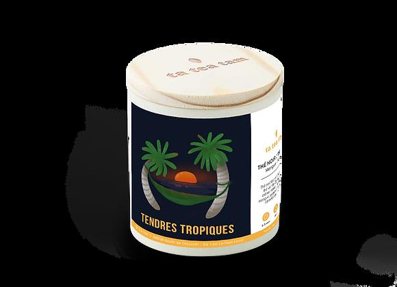 TENDRES TROPIQUES - Thé noir Mangue - Papaye