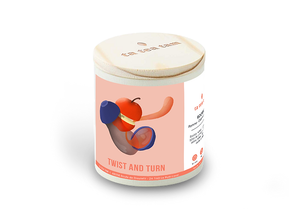 TWIST AND TURN - Rooibos Pomme - Cannelle - Réglisse