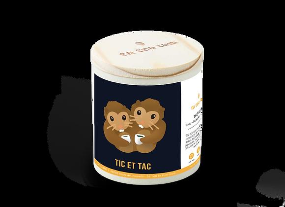 TIC ET TAC - Thé noir Noix - Noisettes - Chocolat
