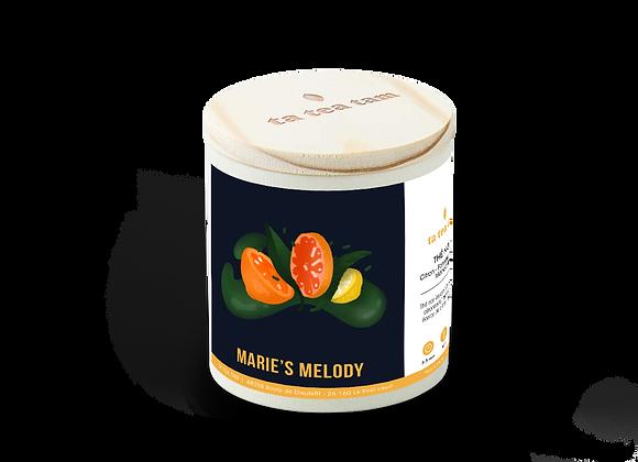 MARIE'S MELODY - Thé noir Citron - Pamplemousse- Mandarine
