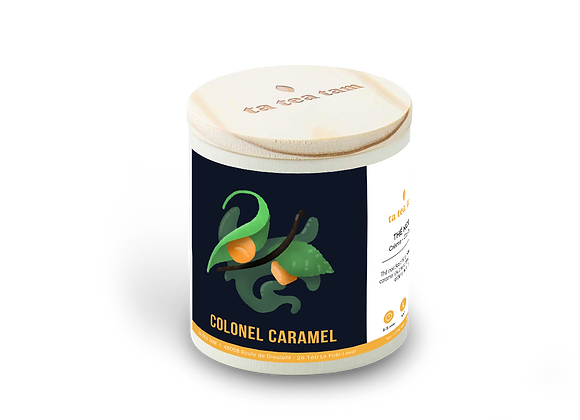 COLONEL CARAMEL - Thé noir Crème - Caramel