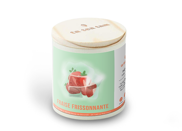 FRAISE FRISSONNANTE - Thé vert Menthe - Fraise