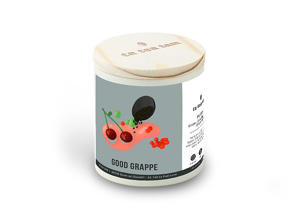 GOOD GRAPPE - Pu Erh - Griotte - Groseille - Raisin - Gingembre