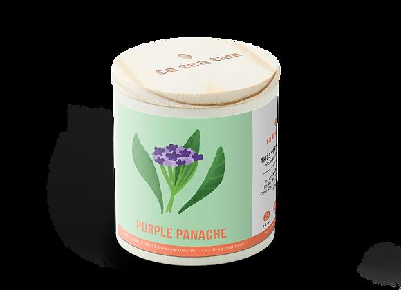 PURPLE PANACHE - Thé vert Violette - Framboise
