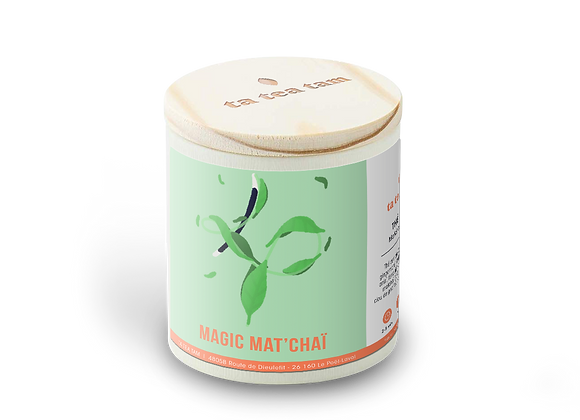 MAGIC MAT'CHAI - Thé vert Epices - Matcha