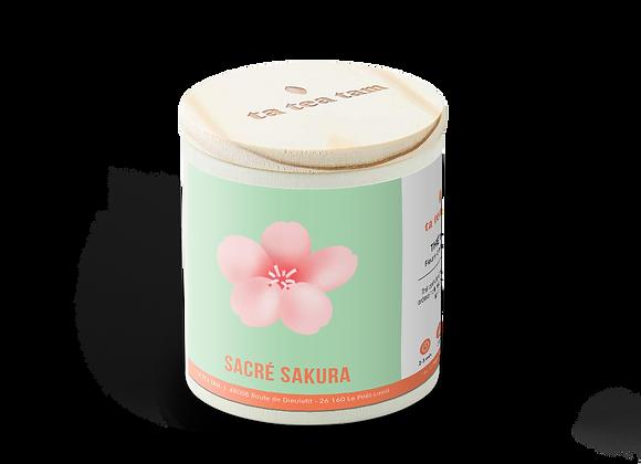 SACRÉ SAKURA - Thé vert Fleurs de Cerisiers