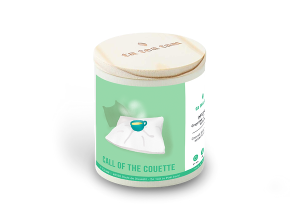 CALL OF THE COUETTE - Infusion Gingembre - Citronnelle - Verveine
