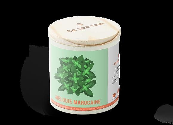 MÉLODIE MAROCAINE - Thé vert Menthe poivrée