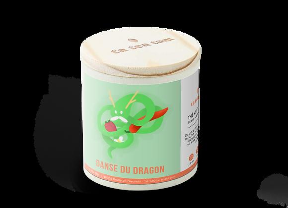 DANSE DU DRAGON - Thé vert Fraise - Jasmin - Piment