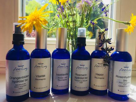 TOP!! Aroma-Erfrischung, praktische Hydrolate-effiziente must have´s . MinzeFrische- LavendelRuhe