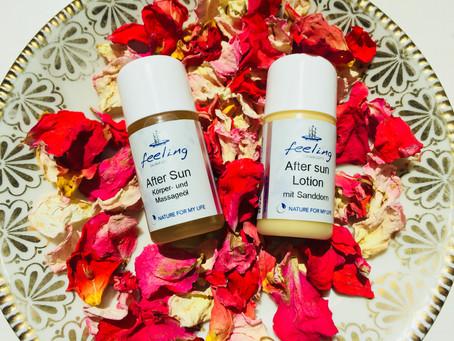 Kühlendes & WOHLTUENDES für Haut & Seele, belebende Frische, seidig gepflegte Haut im Sommer
