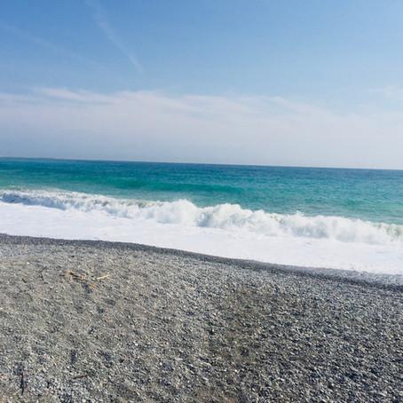 La mer....et Mr. Renoir...à Cagnes /mer