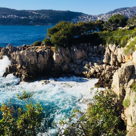 ...Schönheit fürs Auge - Seelen*Rast  promenade au Cap d´Antibes...