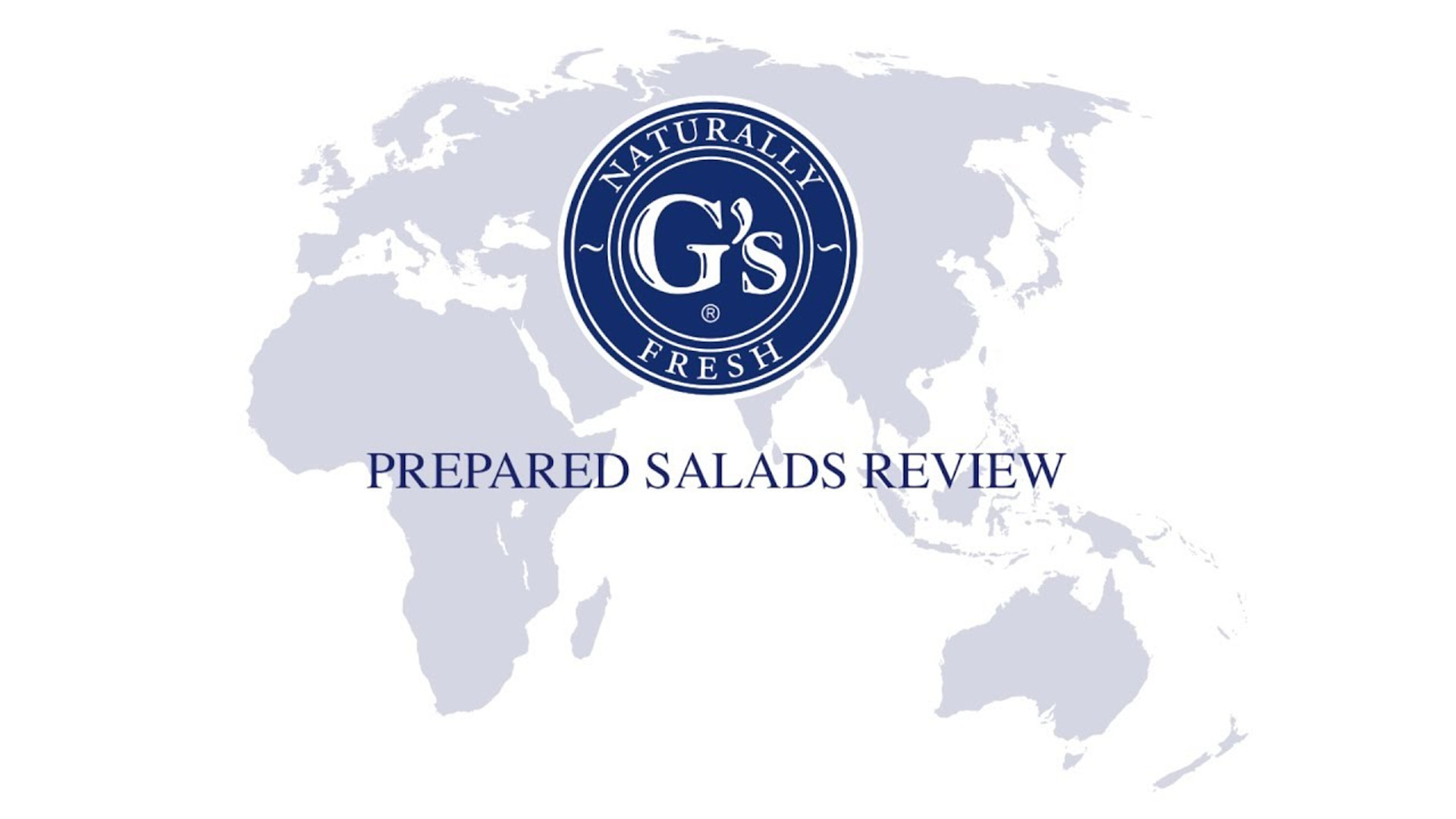 G's Fresh Internal Presentation