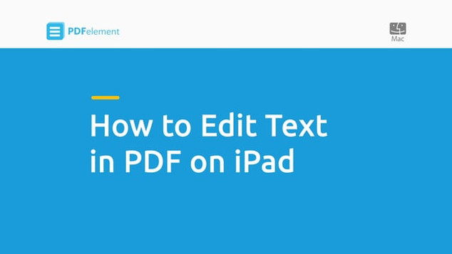 PDFelement iOS Tutorial