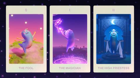 Alien Tarot: AR Tarot Deck