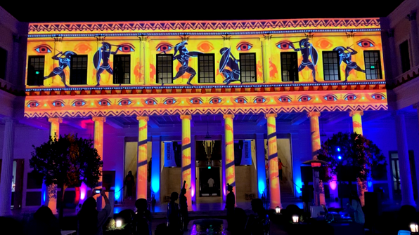 Getty Villa Projection Mapping