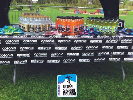 Aptonia patrocina la Ultra Sierra Nevada 2015.