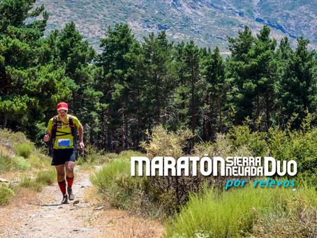 Corre la Maratón Sierra Nevada en relevos con la Maratón DUO.