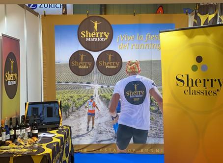 Sherry Maratón presente en la 36ª Zurich Maratón de Sevilla.