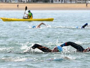 Sherry Swim se estrena este domingo en Sanlúcar de Barrameda con 500 nadadores.