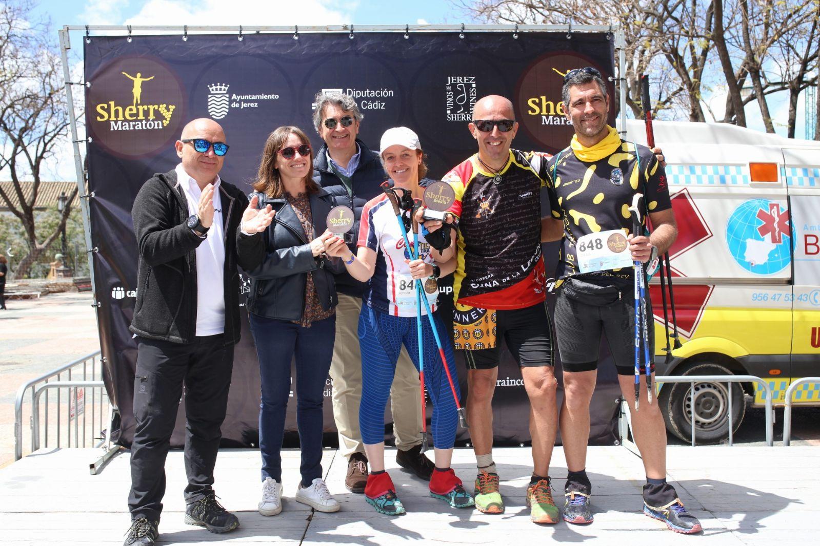 Sherry_Maratón_2018_vencedores_Nordic_Walking_©_Jaime_Porrúa