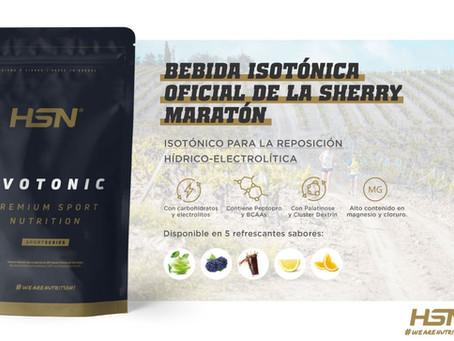 HSN regará de isotónico y nutrirá de productos energéticos la Sherry Maratón 2021 como Partner Ofic.