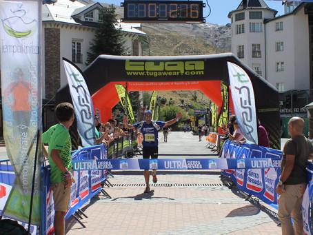 La primera edición de la Ultra Sierra Nevada confirmó su dureza por el recorrido y la altitud