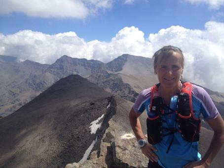 Nerea Martínez evaluó el recorrido de la Ultra Sierra Nevada