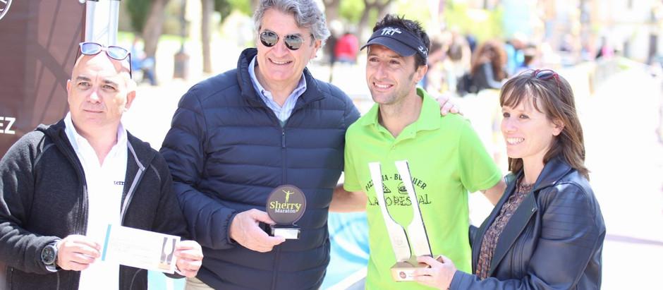Manuel Gatón y Daniela Urminská ganan Sherry Maratón 2018