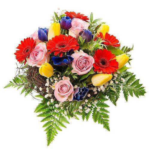 Bouquet with vase