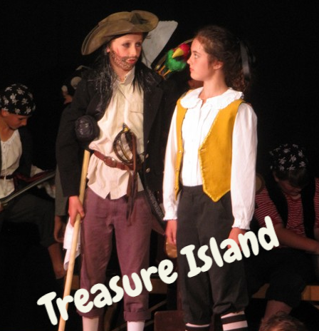 Treasure Island,Y6 show,middle school drama,