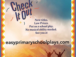 Visit our website and grab a musical play for HALF PRICE at https://www.easyprimaryschoolplays.com