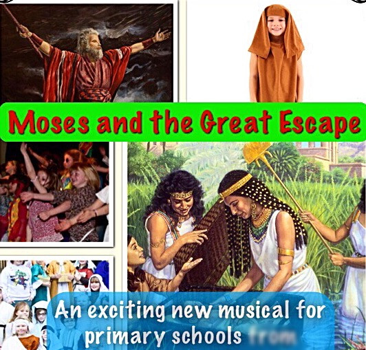 moses,end of term play,primary RE,musical for school