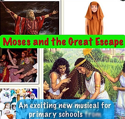 Moses and the Great Escape SCRIPT and CD