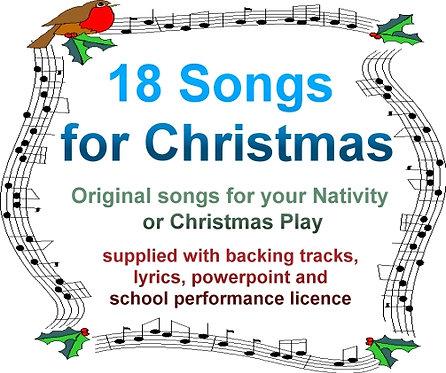 18 Original Carols and Christmas Songs (Download)