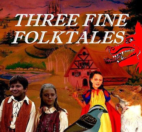 3 Fine Folktales (All on a CD)