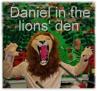 Daniel in the Lions Den- A Christian mus