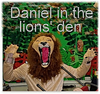 Daniel in the Lions Den- A Christian mus