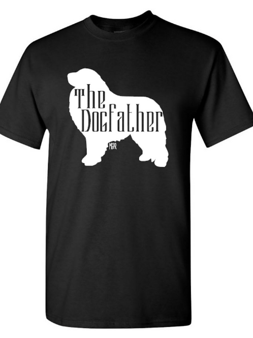 """Men's T-Shirt """"The Dogfather"""""""