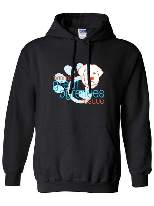 MGPR black pullover hoodie