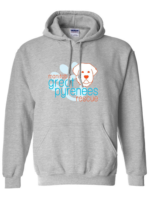 MGPR light grey - pull over hoodie