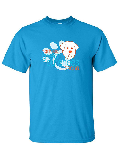 MGPR - Men's Blue crewneck t-shirt