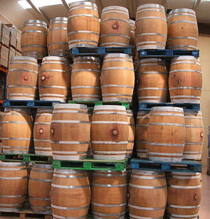 Used Empty Wine And Whiskey Barrels For Sale